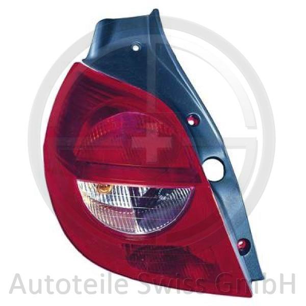 SCHLUßLEUCHTE LINKS , Renault, Clio 05-09