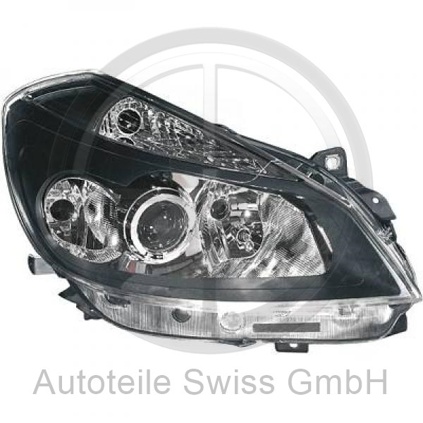 SCHEINWERFER RECHTS , Renault, Clio 05-09