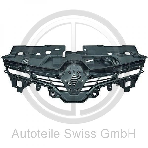 KÜHLEREGRILL , Renault, Clio IV 12-16