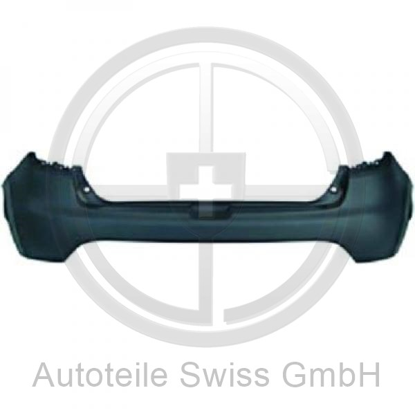 STOßSTANGE HINTEN OBEN , Renault, Clio IV 12-16