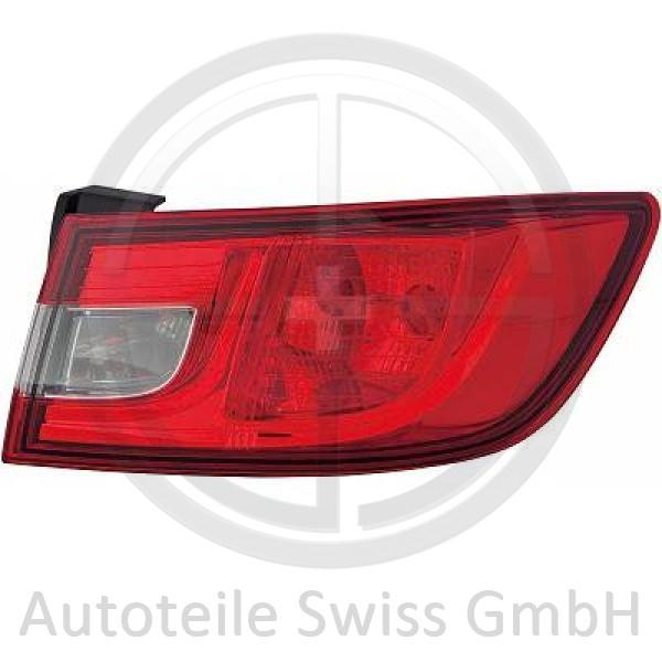 RÜCKLEUCHTE LINKS , Renault, Clio IV 12-16