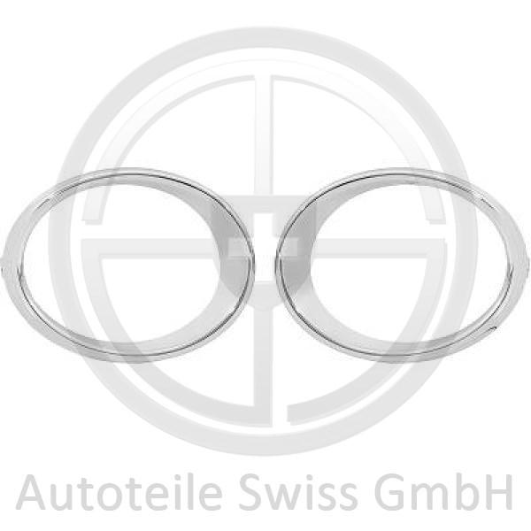 CHROMRINGE NEBELAMPE , Renault, Kadjar 15->>