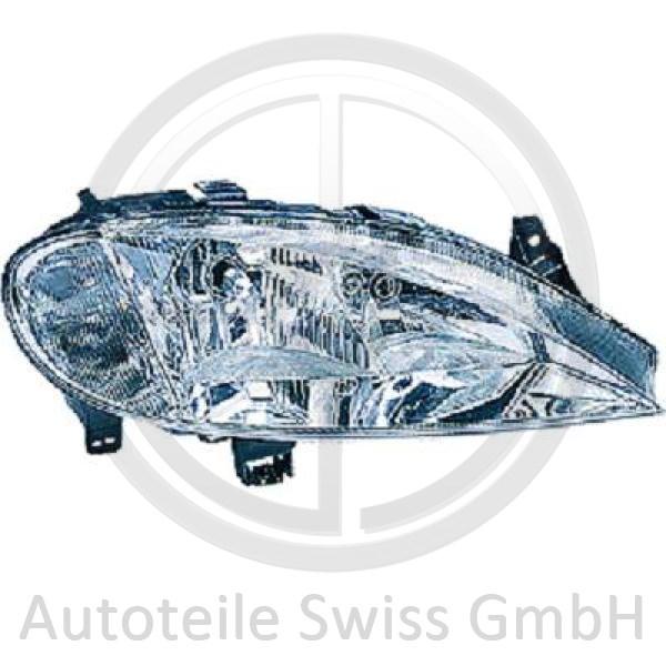 SCHEINWERFER RECHTS , Renault, Megane 99-02