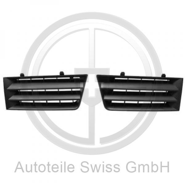 KÜHLERGRILL LINKS , Renault, Megane II 02-05