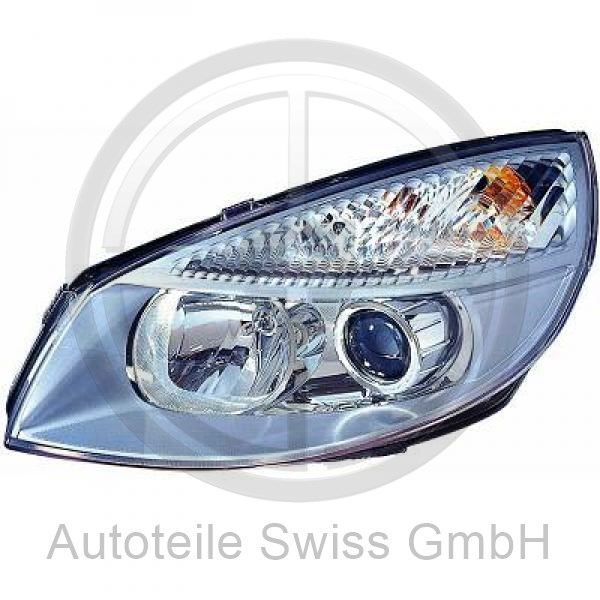 XENON SCHEINWERFER RECHTS, , Renault, Scenic / Grand Scenic 03-06