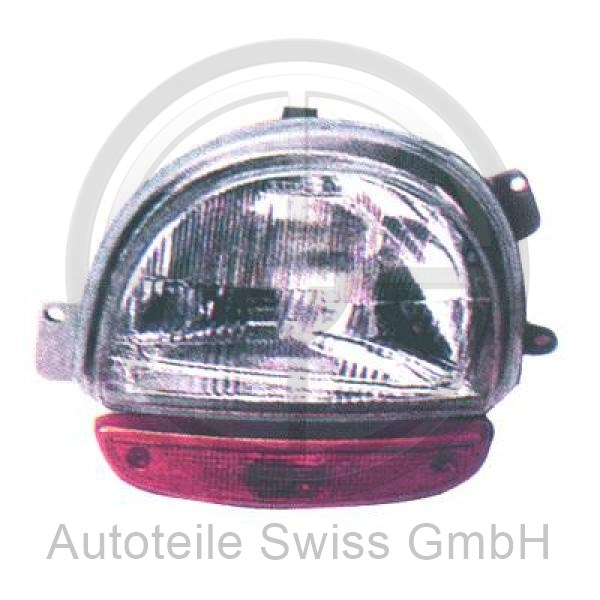 SCHEINWERFER RECHTS , Renault, Twingo 93-98