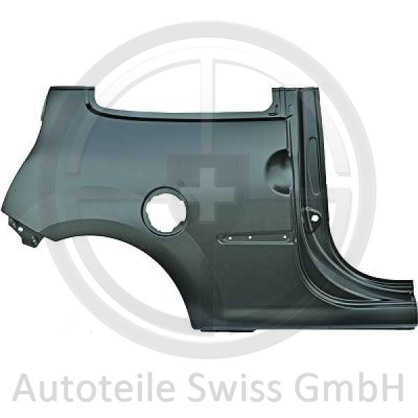 SEITENTEIL HINTEN RECHTS, , Renault, Twingo GT + Dynamique 07-11