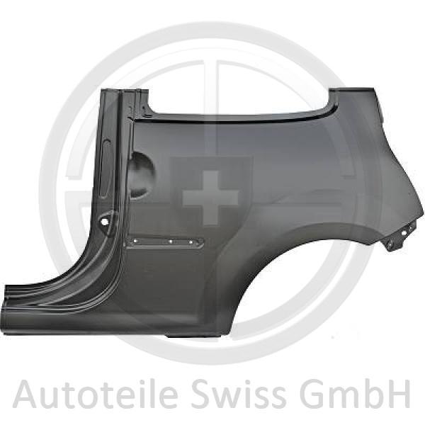 SEITENTEIL HINTEN LINKS, , Renault, Twingo GT + Dynamique 07-11