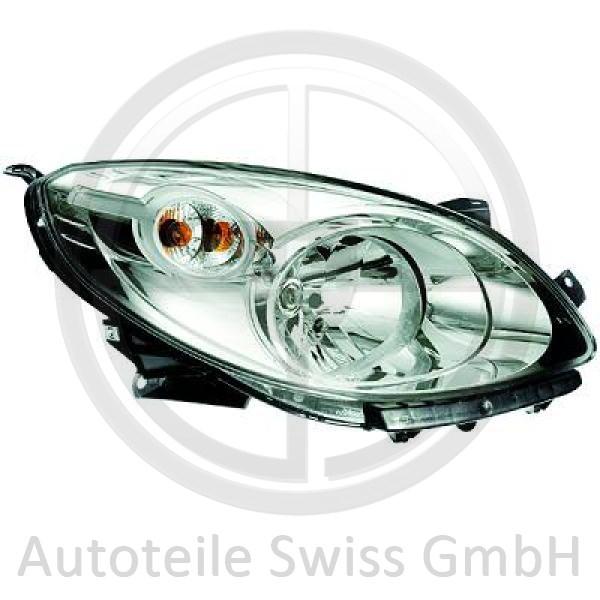 SCHEINWERFER RECHTS , Renault, Twingo GT + Dynamique 07-11