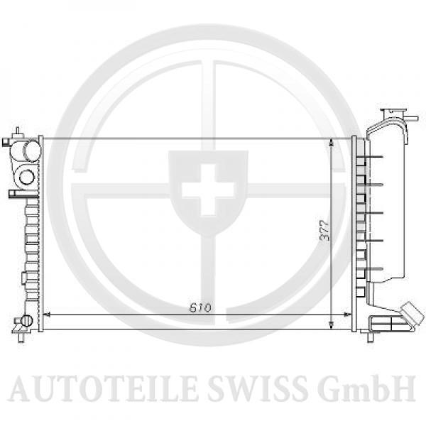 KÜHLER , Peugeot, 306 93-97