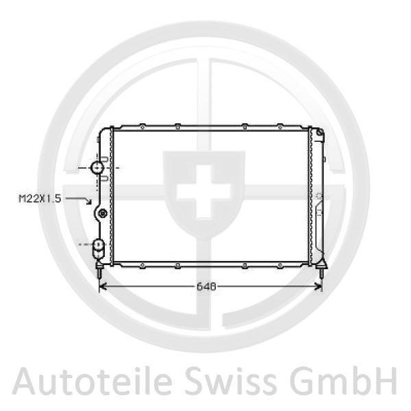 KÜHLER , Renault, Megane 96-99