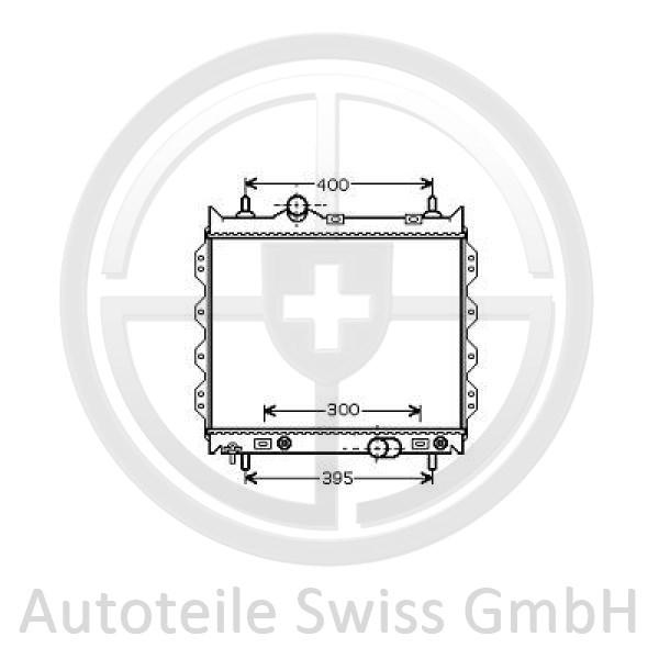 KÜHLER , Chrysler, PT Cruiser Lim. / Cabrio 00-05