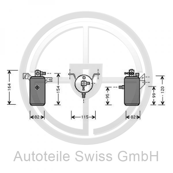 TROCKNER , Peugeot, 306 93-97