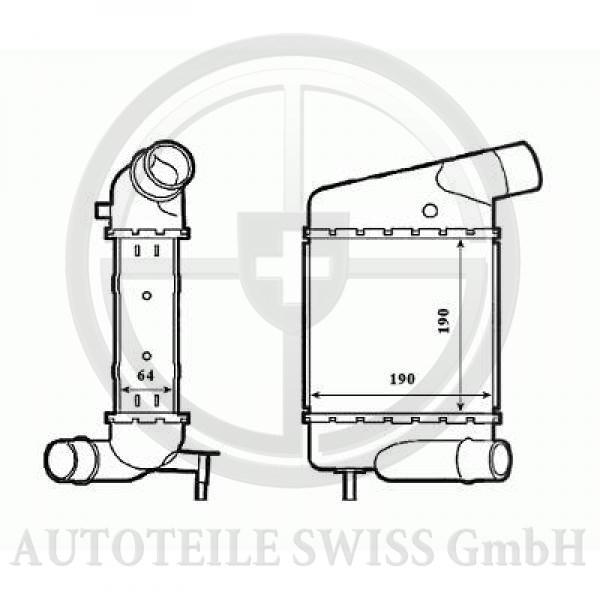 LADELUFTKÜHLER , Renault, Twingo 07-11