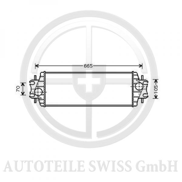 LADELUFTKÜHLER , Renault, Trafic II 01-06