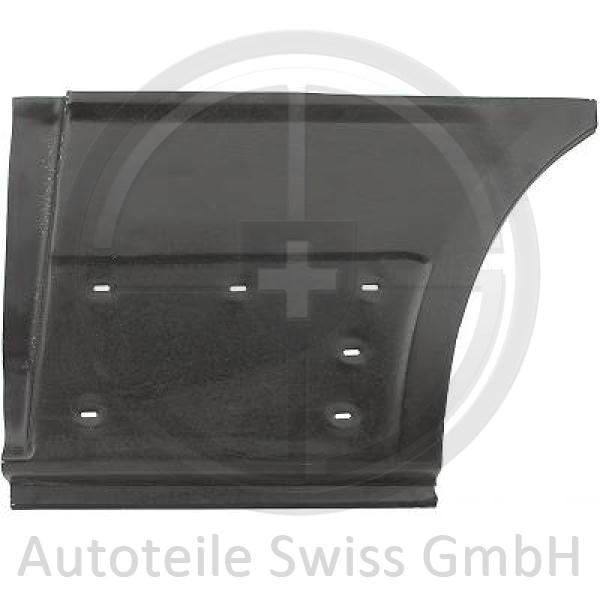 ANSCHLUßBLECH HINTEN LINKS, , Renault, Trafic II 01-06