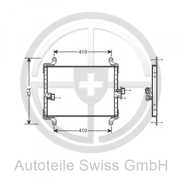 Kondensator, Peugeot, Boxer 94-02
