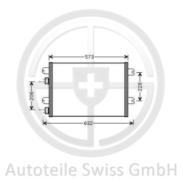 KONDENSATOR , Renault, Twingo 07-11