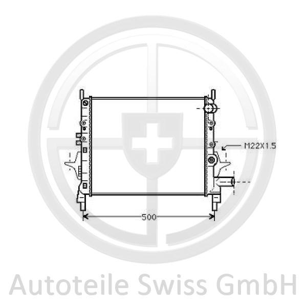 KÜHLER, Renault, Twingo 93-98