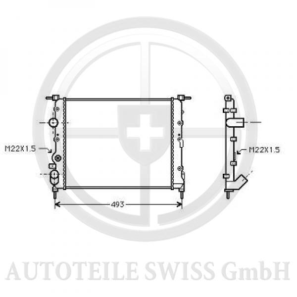 KÜHLER, Renault, Scenic 96-99
