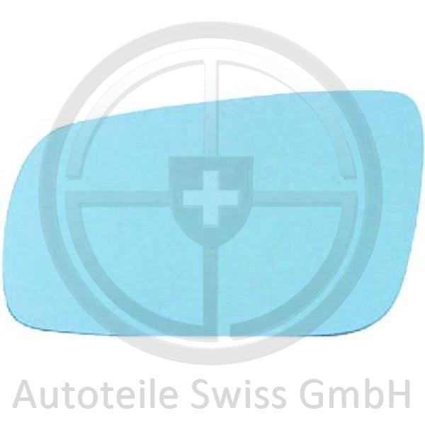 SPIEGELGLAS RECHTS , Audi, A6 (Typ C4) 94-97