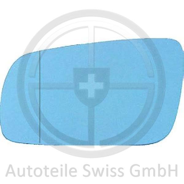 SPIEGELGLAS LINKS , Audi, A6 (Typ C4) 94-97