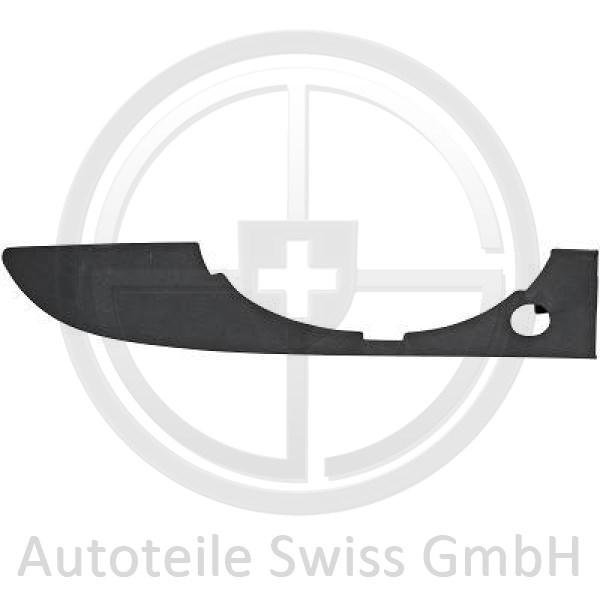 STOßSTANGE GITTER UNTEN RECHTS , Audi, A4 Cabrio 01-09