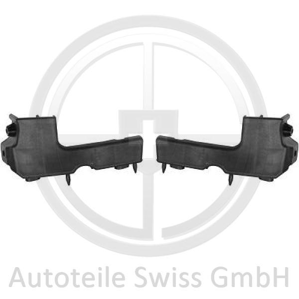 STOßSTANGE HALTER SET VORNE , Audi, A4 Cabrio 01-09
