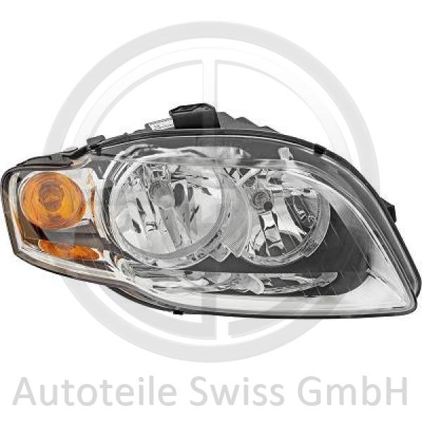 SCHEINWERFER RECHTS , Audi, A4 Cabrio 01-09