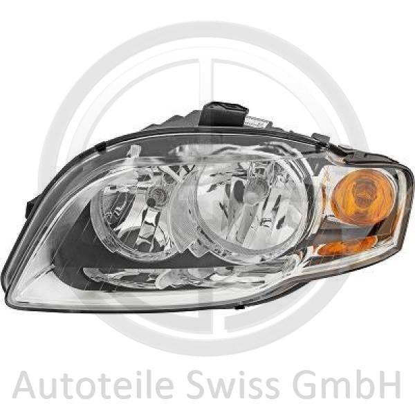 SCHEINWERFER LINKS , Audi, A4 Cabrio 01-09