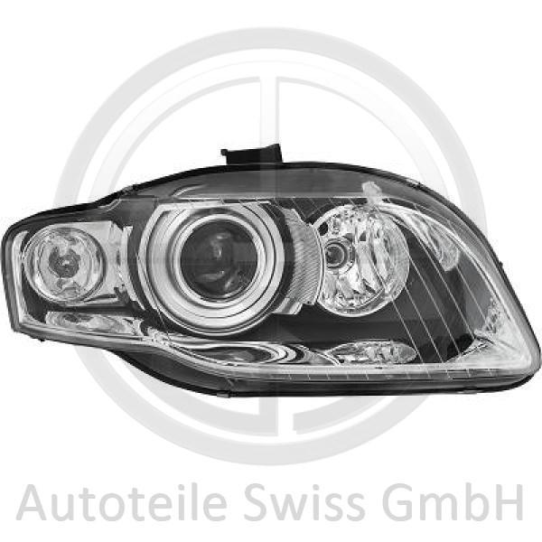 BI XENON SCHEINWERFER RECHTS , Audi, A4 Cabrio 01-09
