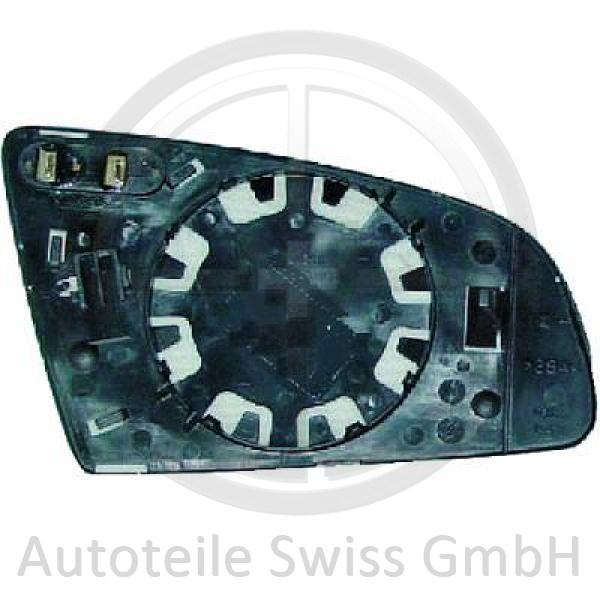 SPIEGELGLAS LINKS , Audi, A6 (Typ 4F2/4F5) 04-08