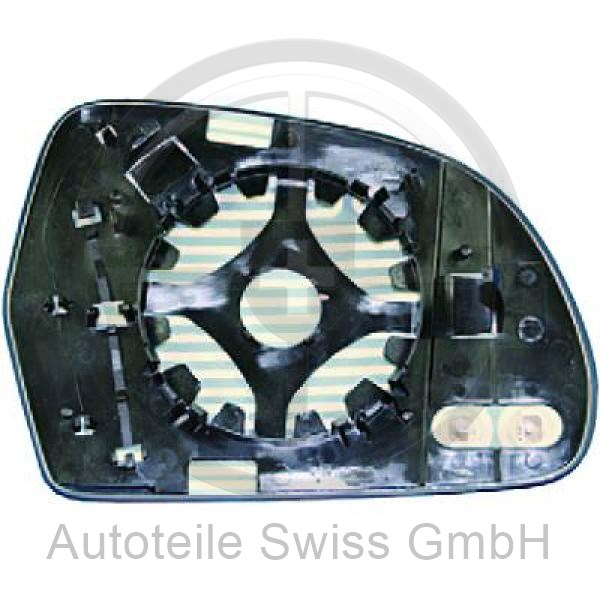 SPIEGELGLAS LINKS , Audi, A6 (Typ 4F2) 08-10