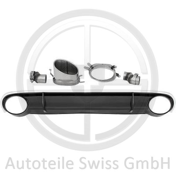 DIFFUSOR STOßSTANGE HINTEN , Audi, A4 Lim/Avant(8K/8E) 07-11