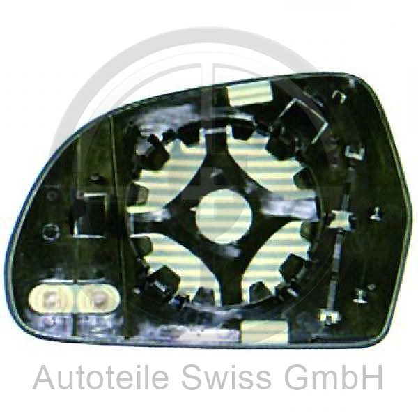 SPIEGEL GLAS RECHTS, Audi, A4 Lim/Avant(8K/8E) 07-11