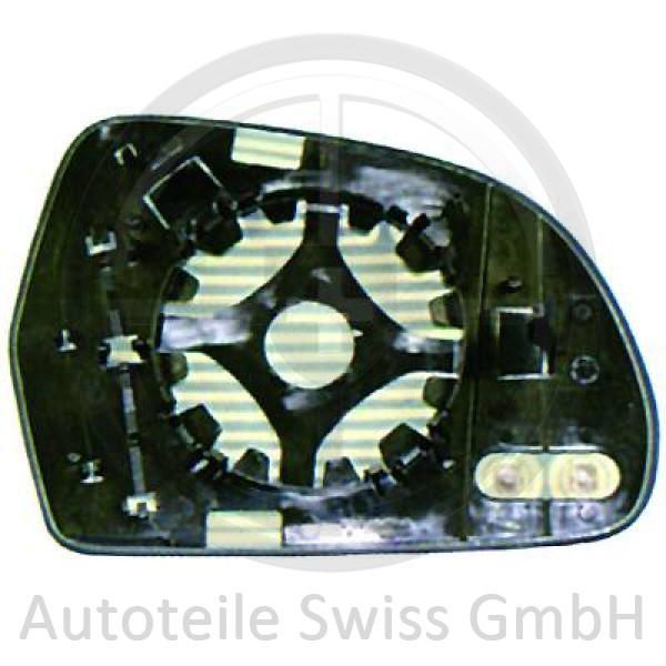 SPIEGEL GLAS LINKS, Audi, A4 Lim/Avant(8K/8E) 07-11