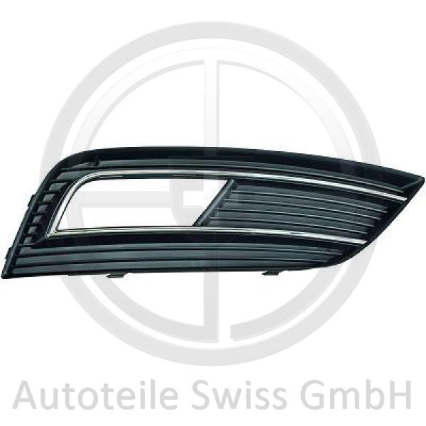 STOßSTANGE GRILL RECHTS , Audi, A4 Lim/Avant(8K) 11-15