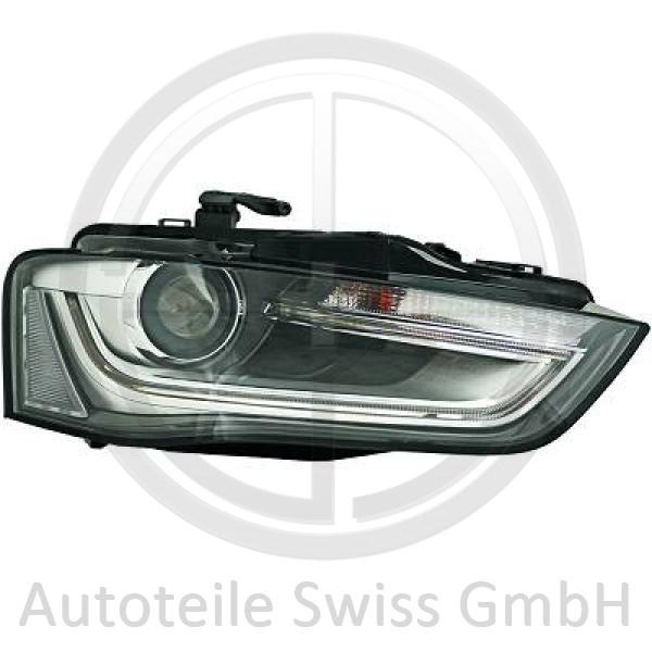 XENON SCHEINWERFER RECHTS, Audi, A4 Lim/Avant(8K) 11-15