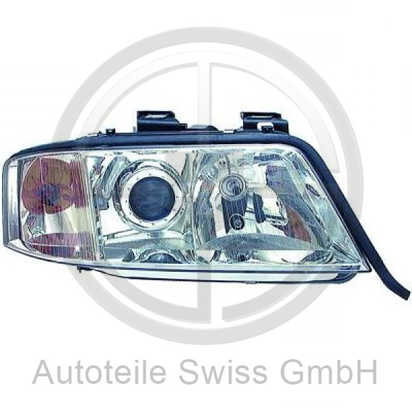 SCHEINWERFER RECHTS , Audi, A6 (Typ 4B) Lim./Avant 97-01