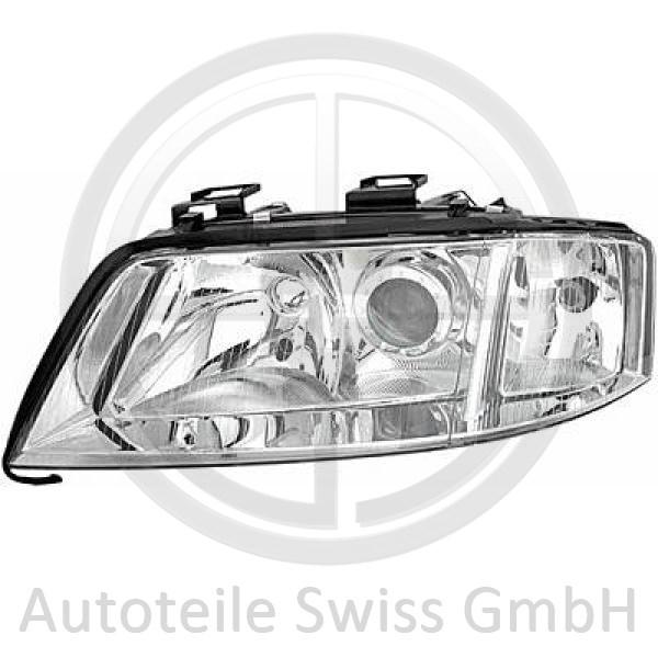 SCHEINWERFER LINKS , Audi, A6 (Typ 4B) Lim./Avant 97-01