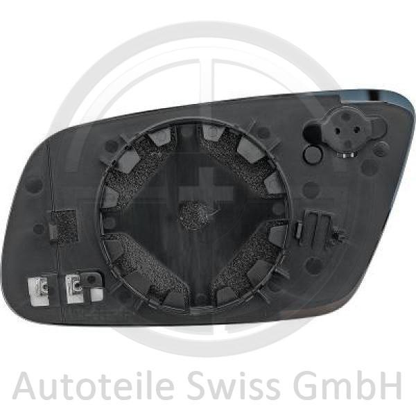 SPIEGELGLAS RECHTS , Audi, A6 (Typ 4B) Lim./Avant 97-01