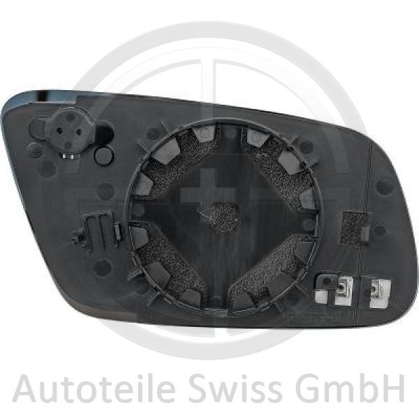 SPIEGELGLAS LINKS , Audi, A6 (Typ 4B) Lim./Avant 97-01