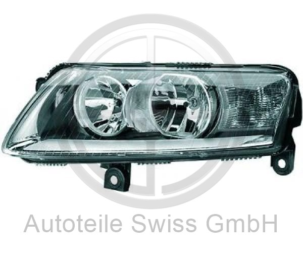 SCHEINWERFER LINKS , Audi, A6 (Typ 4F2/4F5) 04-08