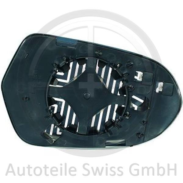 SPIEGELGLAS RECHTS , Audi, A6 (Typ 4G) 11-14