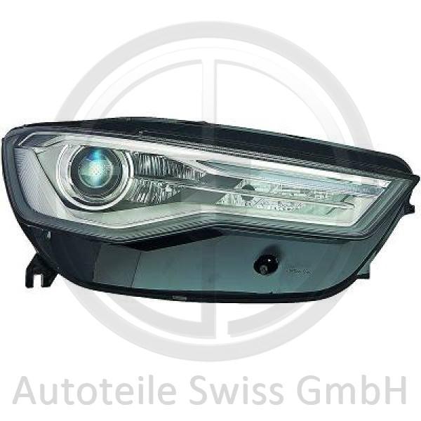 XENON SCHEINWERFER RECHTS , Audi, A6 (Typ 4G) 14->>