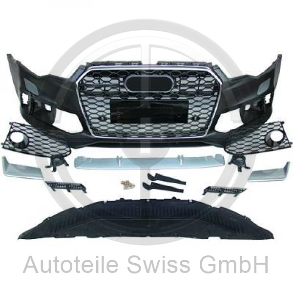 SPORT STOßSTANGE VORNE , Audi, A6 (Typ 4G) 11-14