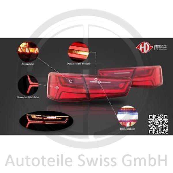 RÜCKLEUCHTEN SET , Audi, A6 (Typ 4G) 11-14
