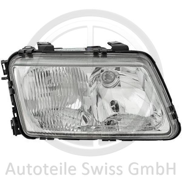 SCHEINWERFER RECHTS , Audi, A3 96-00