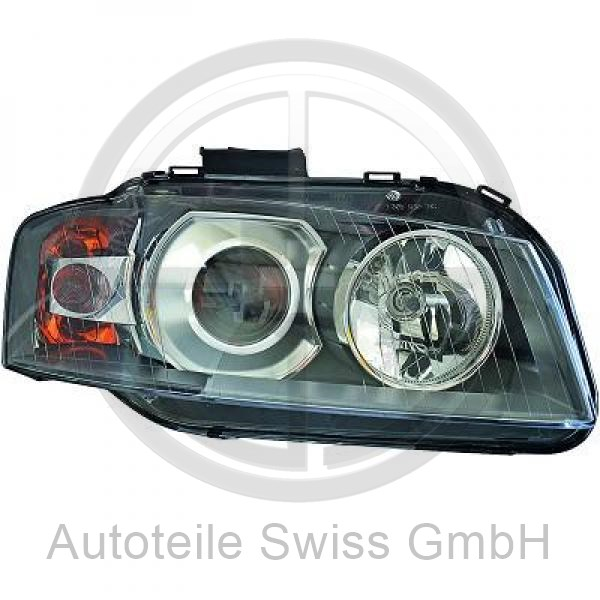 XENON SCHEINWERFER RECHTS , Audi, A3 03-05