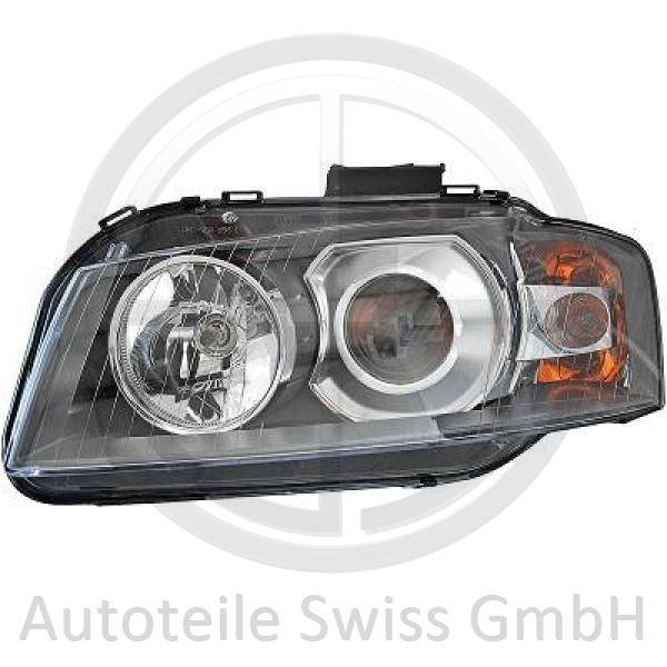 XENON SCHEINWERFER LINKS , Audi, A3 03-05